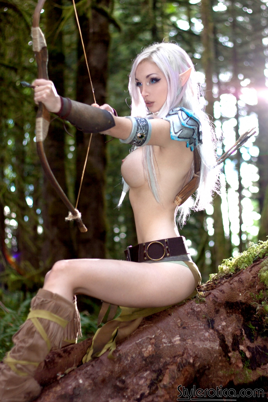 Sexy elven girls in xxx costumes hentai photo