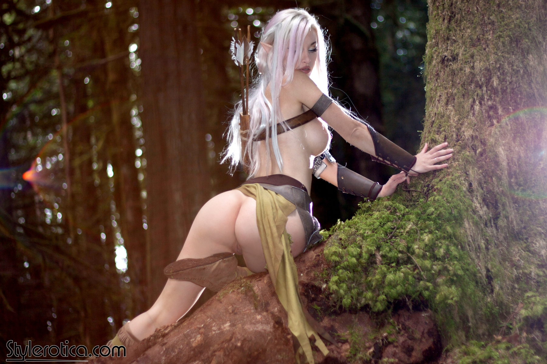 Sexy female elves cosplay sex erotic image